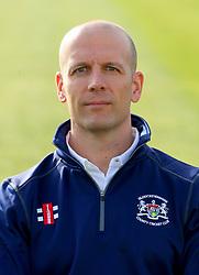 Gloucestershire CCC strength & conditioning coach Chris Bodman - Photo mandatory by-line: Dougie Allward/JMP - 07966 386802 - 10/04/2015 - SPORT - CRICKET - Bristol, England - Bristol County Ground - Gloucestershire County Cricket Club Photocall.