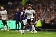 Derby County defender Jayden Bogle (37) during the EFL Sky Bet Championship match between Derby County and Ipswich Town at the Pride Park, Derby, England on 21 August 2018.