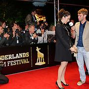 NLD/Utrecht/20120926- Nederlands Filmfestival 2012, NFF, Halina Reijn word geinterviewd
