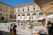 Art market in the baroque mostery