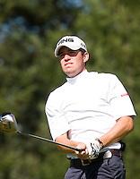 DEN DOLDER - Richard Kind tijdens het NK Strokeplay golf op Golfsocieteit  De Lage Vuursche. COPYRIGHT KOEN SUYK