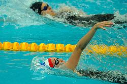 15-08-2008 ZWEMMEN: OS 2008 ZWEMMEN: BEIJING<br /> Elisabeth Simmons GBR en Elisabeth Beisel USA<br /> ©2008-WWW.FOTOHOOGENDOORN.NL