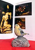 Bird visiting Museum (Prado)