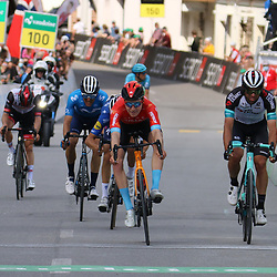 DISENTIS SEDRUM (SUI) CYCLING<br /> Tour de Suisse stage 5<br /> <br /> Sprint chasers with Michael Matthews