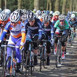 Energiewachttour Stage 2 Pekela-Veendam Ellen van Dijk in the 1th group