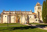 Church Igreja Matriz de Nossa Senhora da Assunçãoin, village of Alvito, Beja District, Baixo Alentejo, Portugal, southern Europe