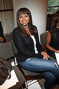 """Debbie Morgan at b.michael America Spring 2010 Collection """" Advanced American Style """" held at Christie's in Rockefeller Plaza on September 16, 2009 in New York City."""