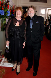 Writer JAMES HERBERT and his wife EILEEN at the 2005 British Book Awards held at The Grosvenor House Hotel, Park lane, London on 20th April 2005.<br /><br />NON EXCLUSIVE - WORLD RIGHTS