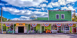 Katy Bike Rental is located in downtown Defiance, MO in the historic Shermier General Store circa 1898. New owners Todd and Robin White, along with Robin's father George Graefser strive to make your experience on the Katy a memorable one.