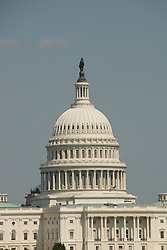 Washington DC; USA: The dome of the Capitol Building, legislative branch of the US government.Photo copyright Lee Foster Photo # 3-washdc82344
