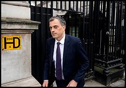 April 17, 2018 - London, London, United Kingdom - Conservative Chief Whip Julian Smith. Conservative Chief Whip Julian Smith leaving Number 10 Downing Street. (Credit Image: © Andrew Parsons/i-Images via ZUMA Press)