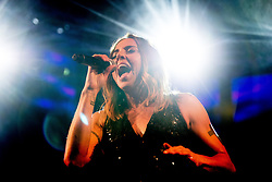 © Licensed to London News Pictures . 25/08/2017. Manchester , UK. MEL C ( Melanie Chisholm or Melanie C ) performs on the main stage on the opening night of Manchester Pride's Big Weekend . The annual festival , which is the largest of its type in Europe , celebrates LGBT life . Photo credit : Joel Goodman/LNP