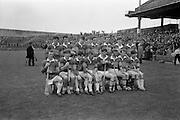 10/09/1967<br /> 09/10/1967<br /> 10 September 1967<br /> Under-21 Hurling Final: Dublin v Tipperary at Croke Park, Dublin.<br /> The Under-21 Tipperary team.