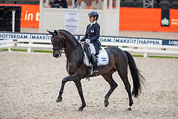 Deligdish Micah (ISR), Destiny<br /> European Championship Dressage<br /> Rotterdam 2019<br /> © Hippo Foto - Stefan Lafrentz