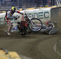 FIM Speedway Grand Prix  2 oktober 2004 ,  VM-finalen  ,  Vikingskipet Hamar Norway<br /> <br /> Ryan Sullivan - AUS<br /> <br /> Foto:Dagfinn Limoseth - Digitalsport