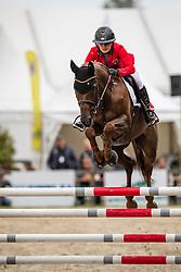 Accola Sira, SUI, Tina de L'yserand<br /> European Jumping Championship <br /> Zuidwolde 2019<br /> © Hippo Foto - Dirk Caremans<br />  14/07/2019