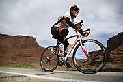 SHOT 5/7/16 8:46:47 AM - Moab is a city in Grand County, in eastern Utah, in the western United States. Moab attracts a large number of tourists every year, mostly visitors to the nearby Arches and Canyonlands National Parks. The town is a popular base for mountain bikers and motorized offload enthusiasts who ride the extensive network of trails in the area. Includes images of Scenic Byway 128, Fisher Towers and downtown Moab. (Photo by Marc Piscotty / © 2016)
