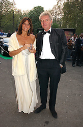 COUNT LEOPOLD & COUNTESS DEBONAIRE VON BISMARCK at the NSPCC's Dream Auction held at The Royal Albert Hall, London on 9th May 2006.<br />