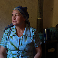 María de Jesús Santos Sánchez, La Paz, Honduras. Her husband was an abusive drunk. She left him and built her own house, with strict discipline and hard work, she brought up her kids and now brings up her grandchildren.