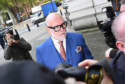 The Duchess of Cambridge's uncle, Gary Goldsmith, arrives at Westminster Magistrates' Court, London, where he is accused of assault by beating of Julie-Ann Goldsmith, his wife, outside their home in London.