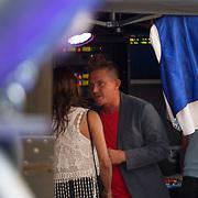 NLD/Amstelveen/20140610 - TROS Muziekfeest op het Plein 2014 Amstelveen, Johnny de Mol en nieuwe vriendin