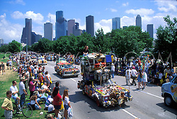 Stock photo of the Parade passing by the park