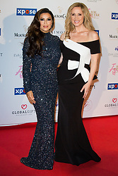 Eva Longoria and Lara Fabian attends the Global Gift Gala at Mouton Cadet Winbe Bar during 72nd Cannes film festival on May 20, 2019 in Cannes, France. Photo by Nasser Berzane/ABACAPRESS.COM