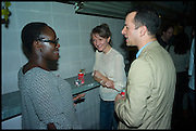 Lynette Yiadom-Boakye; MATTHEW SLOTOVER,  Frieze party, ACE hotel Shoreditch. London. 18 October 2014