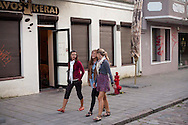 Kaunas, Lithuania in summer.