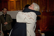 ERIN O'CONNOR; CARMEN DELL'OREFICE;, London College of Fashion hosts party to celebrate the opening of Carmen: A Life in Fashion with guest of honour Carmen Dell'Orefice. Il Bottachio, Hyde Park Corner. London. 16 November 2011. <br /> <br />  , -DO NOT ARCHIVE-© Copyright Photograph by Dafydd Jones. 248 Clapham Rd. London SW9 0PZ. Tel 0207 820 0771. www.dafjones.com.