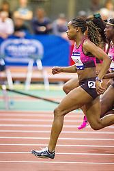 Millrose Games: womens 60m hurdle, Janay Deloach Soukup wins