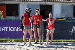Team SUI, grooms<br /> CSIO La Baule 2021<br /> © Hippo Foto - Dirk Caremans<br />  11/06/2021