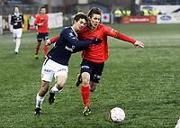 Fotball , 22. april 2012 , Tippeligaen , Eliteserien<br /> Strømsgodset - Viking<br /> Gustav Mendonca Wikheim , SIF<br /> Trond Erik Bertelsen , Viking