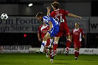 Elliott Chamberlain. Kidderminster Harriers FC 1-1 Stockport County. Blue Square Bet Premier. 23.8.11