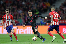 May 3, 2018 - Madrid, Spain - MESUT OZIL of Arsenal FC during the UEFA Europa League, semi final, 2nd leg football match between Atletico de Madrid and Arsenal FC on May 3, 2018 at Metropolitano stadium in Madrid, Spain (Credit Image: © Manuel Blondeau via ZUMA Wire)
