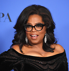 Oprah Winfrey at the 75th Annual Golden Globe Awards held at the Beverly Hilton Hotel on January 7, 2018 in Beverly Hills, CA ©Tammie Arroyo-GG18/AFF-USA.com. 07 Jan 2018 Pictured: Oprah Winfrey. Photo credit: MEGA TheMegaAgency.com +1 888 505 6342