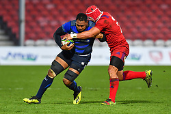 Isileli Nakajima of Japan is tackled by Nikita Vavilin of Russia <br /> <br /> Photographer Craig Thomas<br /> <br /> Japan v Russia<br /> <br /> World Copyright ©  2018 Replay images. All rights reserved. 15 Foundry Road, Risca, Newport, NP11 6AL - Tel: +44 (0) 7557115724 - craig@replayimages.co.uk - www.replayimages.co.uk