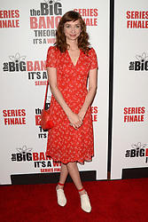 May 1, 2019 - Pasadena, CA, USA - LOS ANGELES - MAY 1:  Lauren Lapkus at the ''The Big Bang Theory'' Series Finale Party at the Langham Huntington Hotel on May 1, 2019 in Pasadena, CA (Credit Image: © Kay Blake/ZUMA Wire)