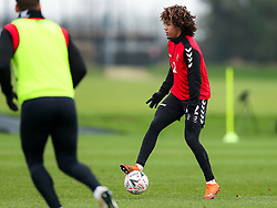 Han-Noah Massengo of Bristol City during a training session ahead of the FA Cup game with Portsmouth - Rogan/JMP - 07/01/2021 - Failand - Bristol, England.