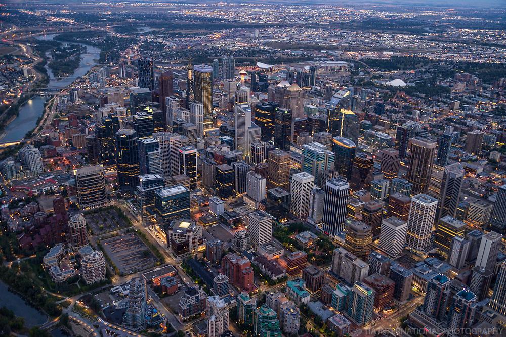 City of Calgary & Bow River