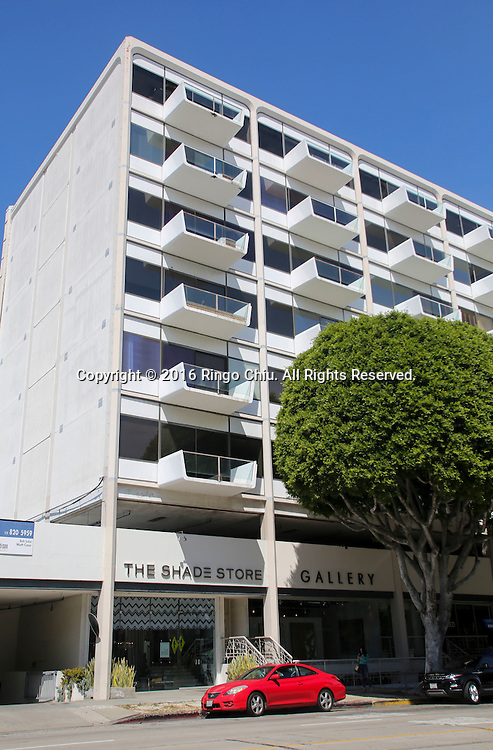 The building at 8899 Beverly Blvd. West Hollywood.  (Photo by Ringo Chiu/PHOTOFORMULA.com)<br /> <br /> Usage Notes: This content is intended for editorial use only. For other uses, additional clearances may be required.