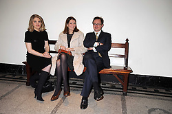 Left to right, VISCOUNTESS DUNLUCE, PLUM SYKES and VISCOUNT DUNLUCE at a reception to celebrate the opening of 'Magnificence Of The Tsars' the new exhibition at the V&A held on 9th December 2008.