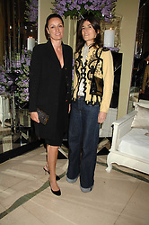 Left to right, TRICIA SIMONON and BELLA FREUD at the 10th Anniversary Party of the Lavender Trust, Breast Cancer charity held at Claridge's, Brook Street, London on 1st May 2008.<br /><br />NON EXCLUSIVE - WORLD RIGHTS