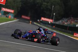 August 25, 2017 - Spa Francorchamps, Vlaanderen, belgique - Spa 25/08/2017 Formule 1 /GP F1 Belgique /Vendredi/Essais 1/.Kvyat N∞26 Toro Rosso (Credit Image: © Panoramic via ZUMA Press)