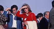 Barbara Walters covers President Carter's  visit to Saudi Arabia on January 3, 1978