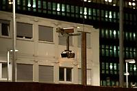 14 JUN 2010, BERLIN/GERMANY:<br /> Kameras sichern die Baustelle fuer den Neubau des Bundesnachrichtendienstes, BND, Chausseestrasse<br /> IMAGE: 20100614-02-014