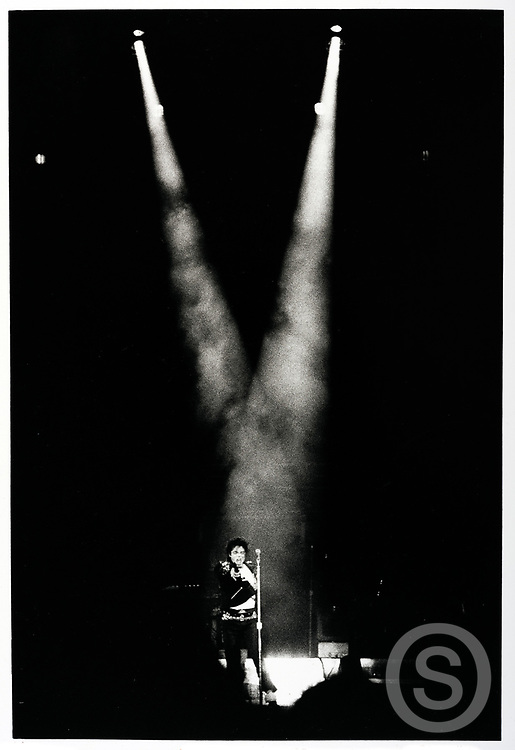 Photographer: Chris Hill, Michael Jackson, Cork, 1988