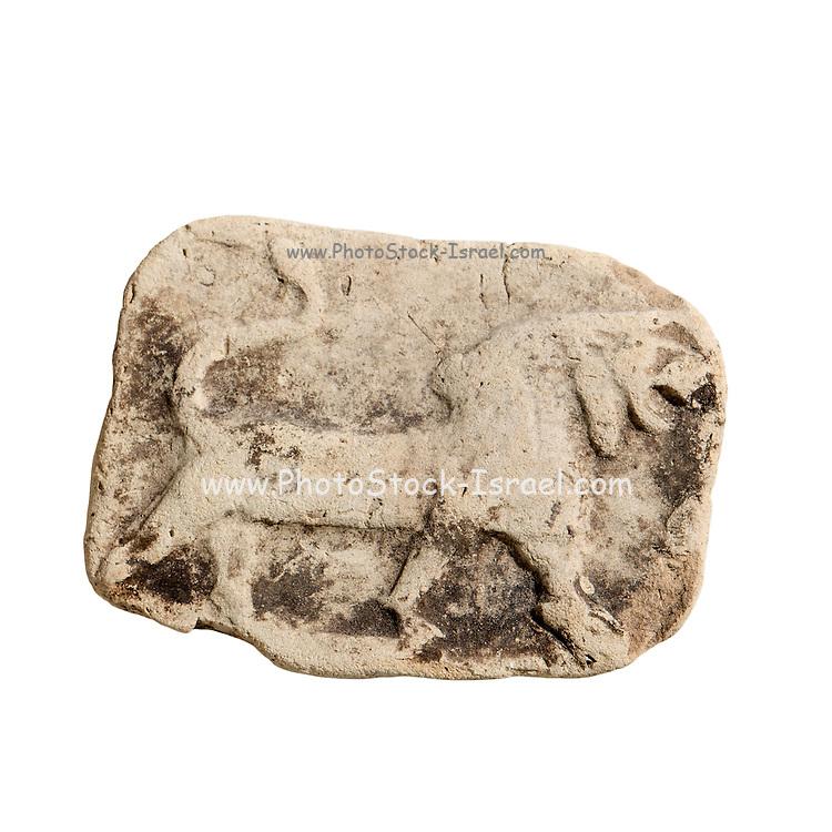 A Terracotta Plaque depicting a roaring lion 2nd Millennium BCE