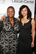 Rosie Perez and Moikgansti Kgama at The ImageNation celebration for the 20th Anniversary of ' Do the Right Thing' held Lincoln Center Walter Reade Theater on February 26, 2009 in New York City. ..Founded in 1997 by Moikgantsi Kgama, who shares executive duties with her husband, Event Producer Gregory Gates, ImageNation distinguishes itself by screening works that highlight and empower people from the African Diaspora.