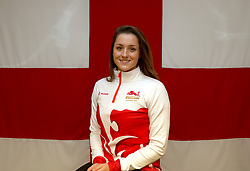 Team England's Molly Henshaw poses for a photo during the kitting out session at Kukri Sports HQ, Preston.